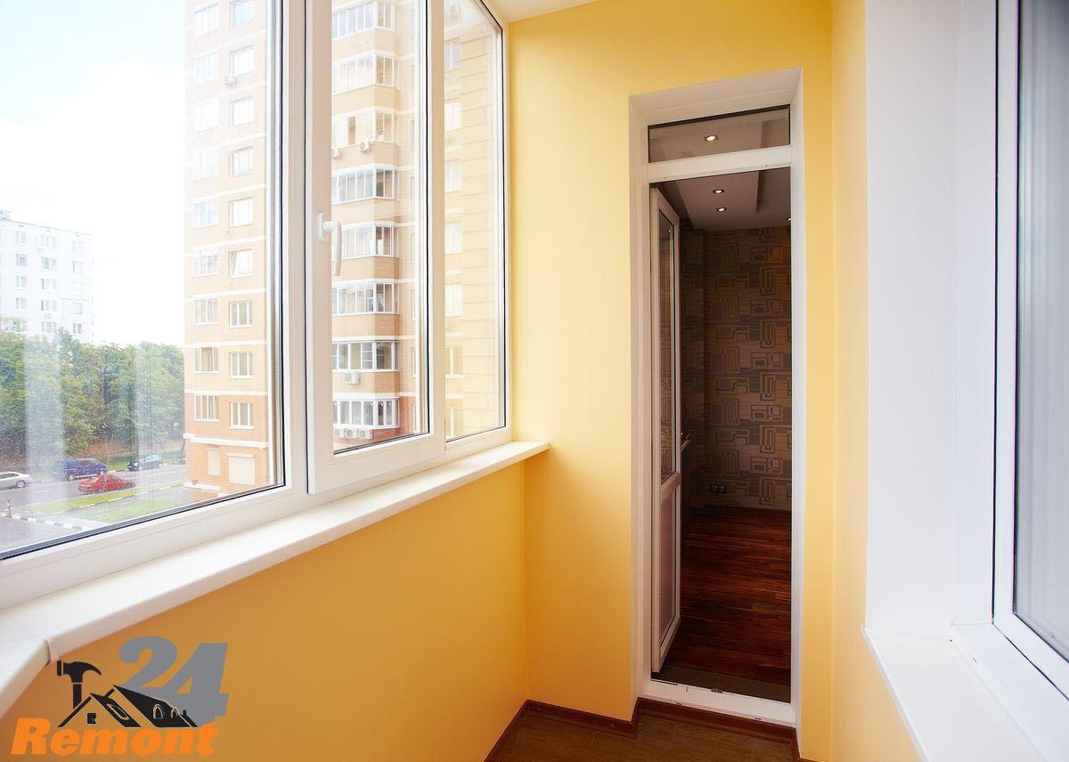 Отделка (обшивка) балконов и лоджий внутри и снаружи во влад.