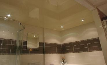 Plafoanele în baie