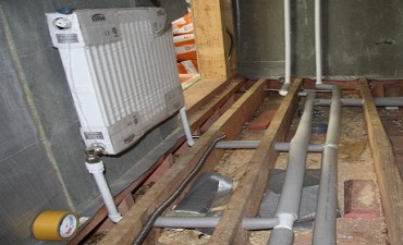 Трубы и радиаторы отопления